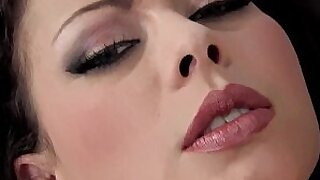 sexy video: Breasty animee Chloe in stockings and heels