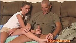 sexy video: Dad Gives Daughter Blowjob and Fucked My Mom