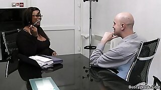 sexy video: Sexy Little BBW at the office