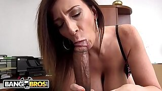 sexy video: Large Black Cock with an amazing Busty MILF