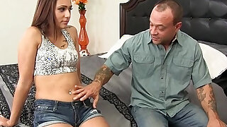 sexy video: Teen amateur Slut Hooks Up With Step Dad!