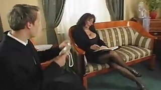 sexy video: Mature calls guy for sex!