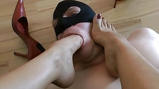 sexy video: Shoe And Foot Worship POV