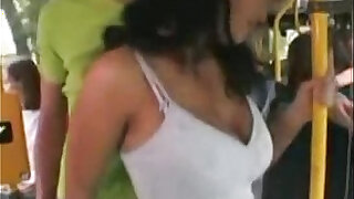 sexy video: Fucked on a Public Bus for more