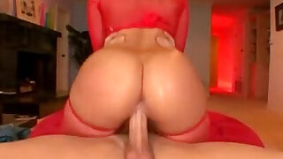 sexy video: Alexis Texas lingerie red