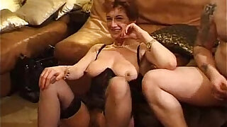 sexy video: French Mature Gangbang