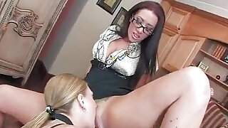 sexy video: Avy Scott and Jayden James are Lesbian Housemaids