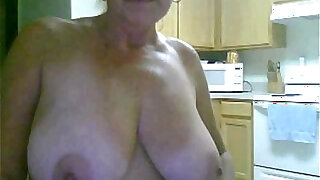 sexy video: Solo of sex addicted Granny from Australia
