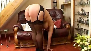 sexy video: Hard spanking punishment for fat milf with big tits