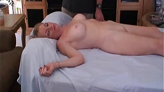 sexy video: Mom plays with sons cockadoodle