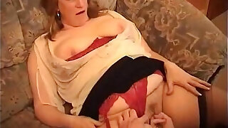 sexy video: Chubby Grandmother Goes Wild