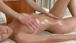 sexy video: Busty brunette babe fucked after sucking dick
