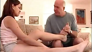 sexy video: Girl with daddy issues and sexy feet
