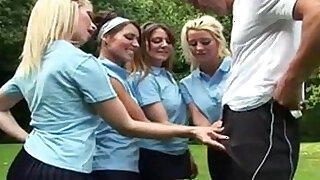 sexy video: Brit Sluts Love Physical Education