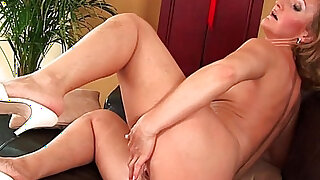 sexy video: Older mom Brandy has small breasts and a hot body