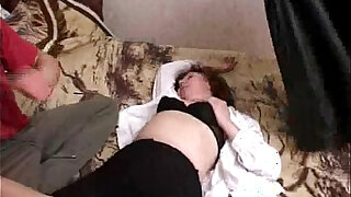 sexy video: Mila mature woman gets throat fucked