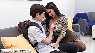 sexy video: Lesbian student good hands