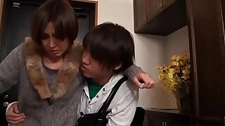 sexy video: Japanese Mom Fucks Her Young Son!